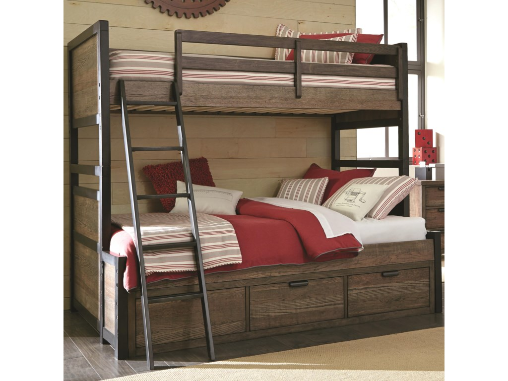 Bunk Bed Desk Combination   Pull Apart Bunk Beds   Bunk Beds With Futon On Bottom