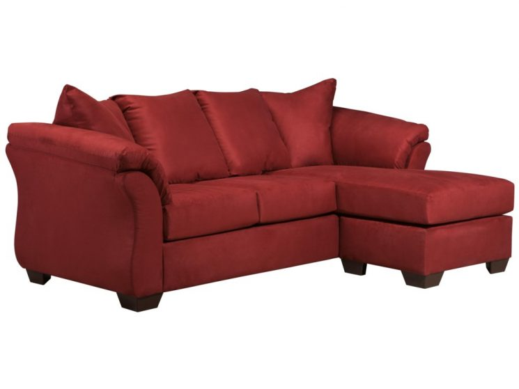 Darcy Sectional | Darcy Cafe Sofa Chaise | Small Sofa With Reversible Chaise