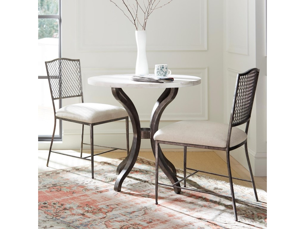 4 Piece Bistro Table Set | Iron Bistro Set | Bistro Table Sets