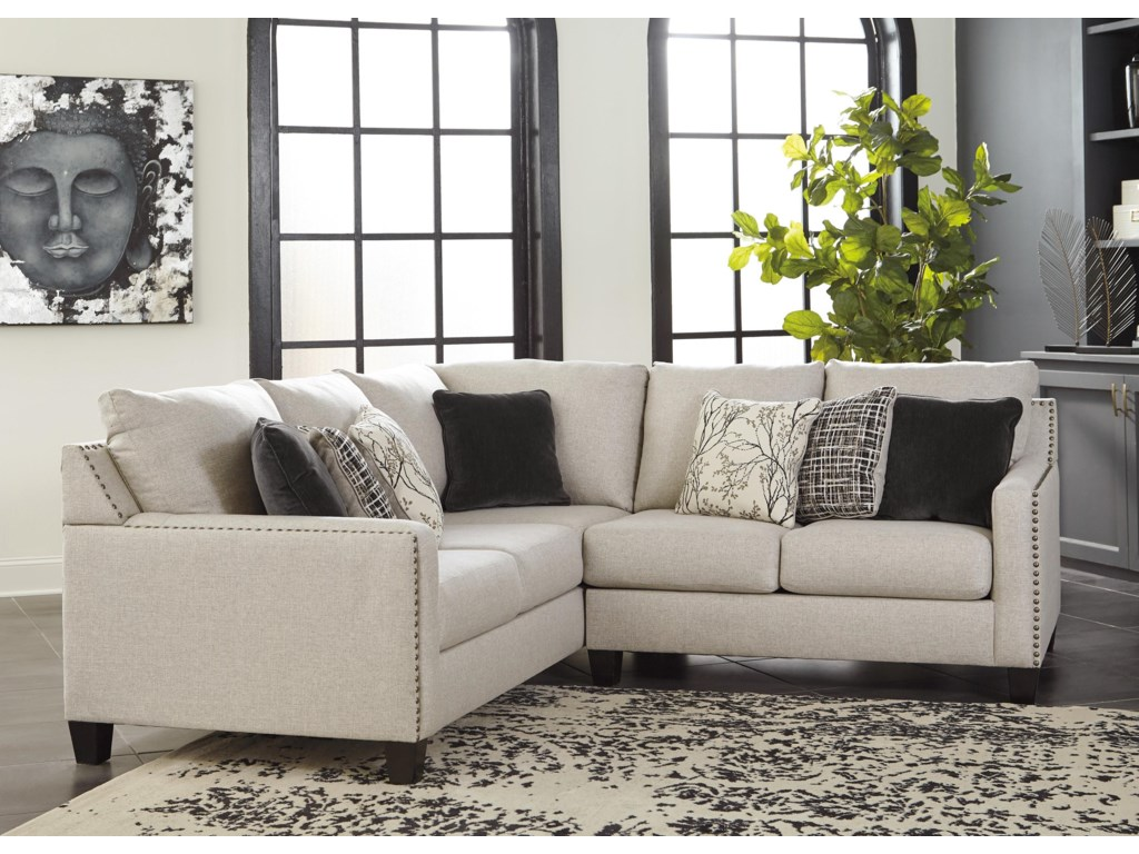 Brown Leather Power Reclining Sectional | Grey Sectional Couch Costco | Sectional With Ottoman