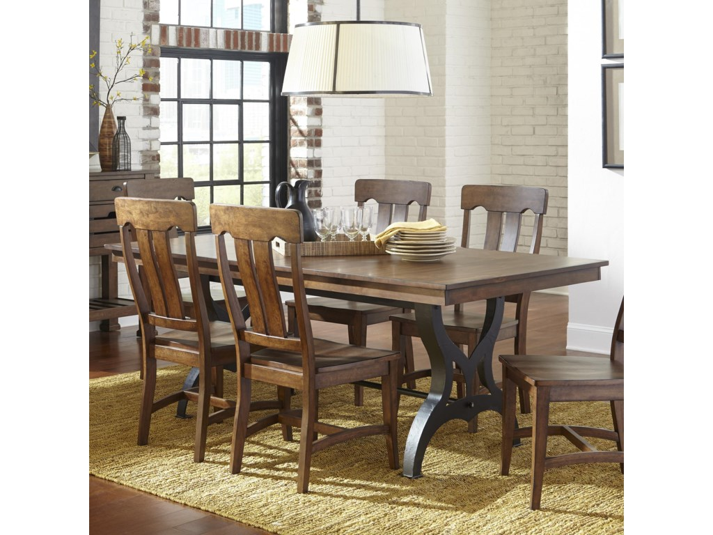Chateau Traditional Cherry Formal Dining Room Furniture Set | Formal Dining Room Tables | City Furniture Dinette Sets