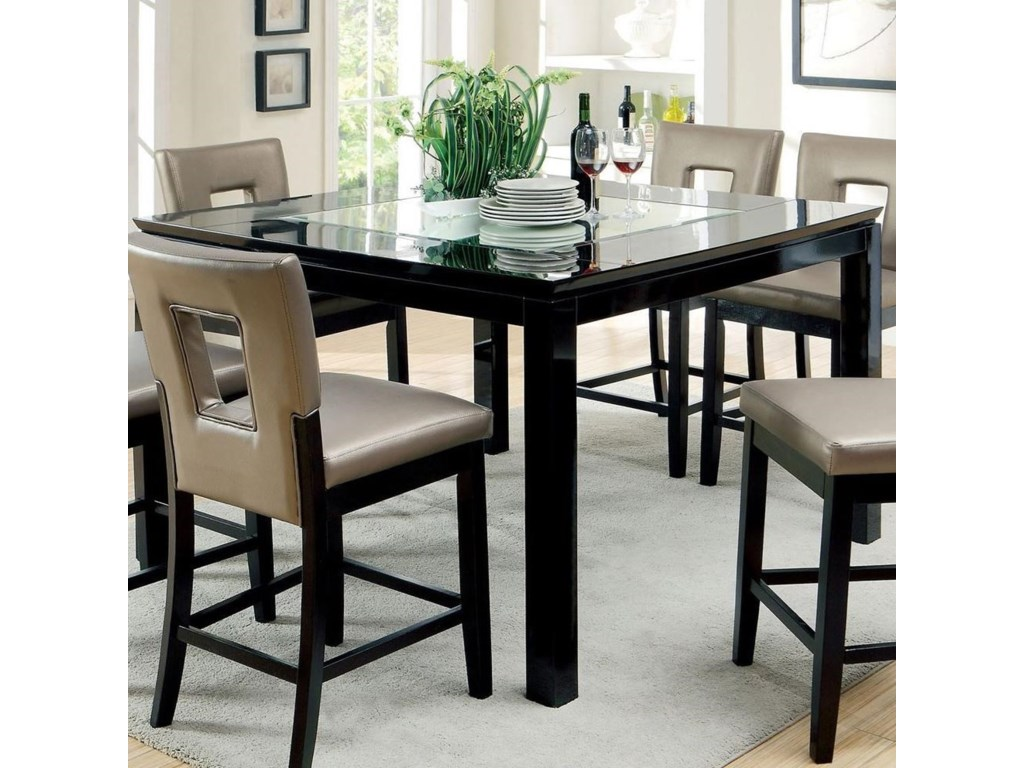 Contemporary Dinette Sets | 4 Seater Extending Dining Table | Rooms To Go Dining Table Sets