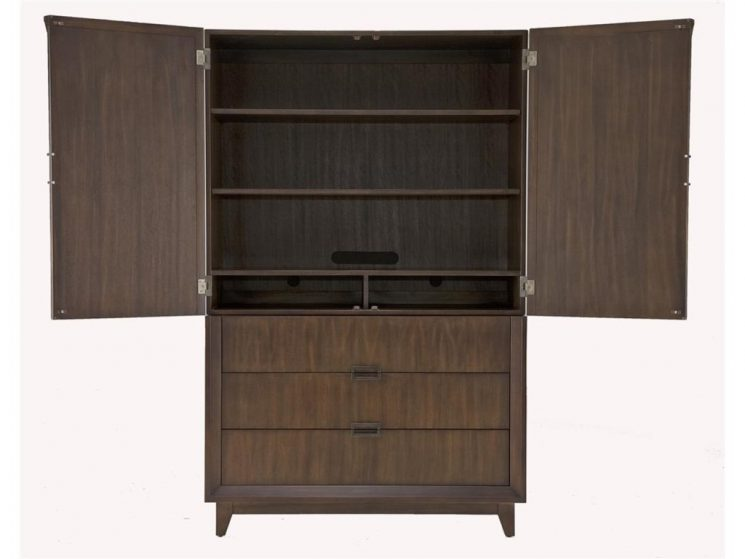 Entertainment Armoire | 84 Inch Tv Stand Console | Hooker Furniture Console
