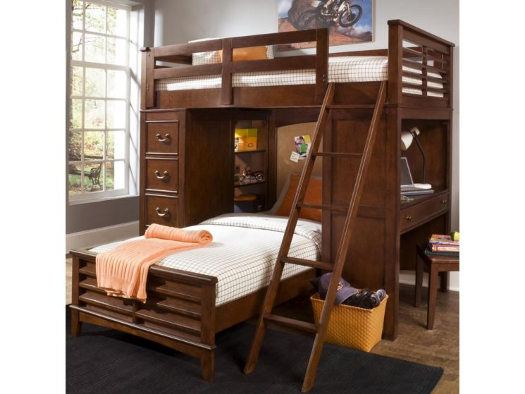 Kids Bunk Beds Seattle | Desk Bunk Bed | Collapsible Bunk Bed