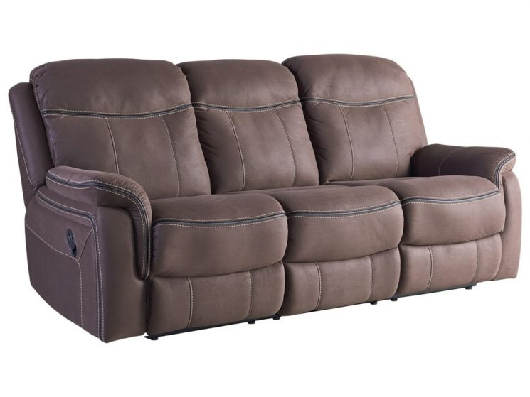 Leather Recliner Sofa | Cindy Crawford Leather Reclining Sofa | Veneto Brown Leather Power Reclining Sofa